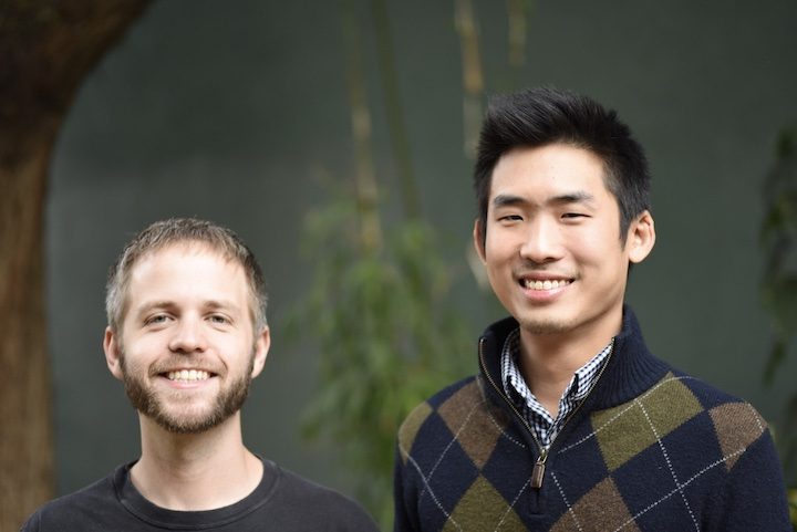 Origin Company Co-Founders, Christopher Prucha and Joel Ong