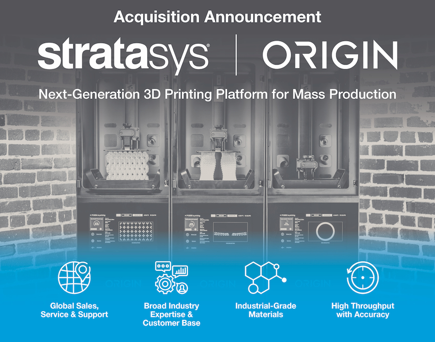 Stratasys Acquires Origin